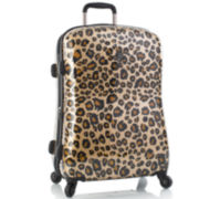 "Heys® Exotic Leopard 26"" Hardside Spinner Upright Luggage"