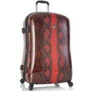"""Heys® Exotic Python 21"""" Hardside Carry-On Spinner Upright Luggage"""