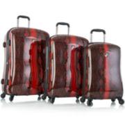 Heys® Exotic Python 3-pc. Hardside Spinner Luggage Set