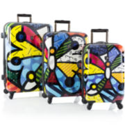 Heys® Britto Butterfly 3-pc. Hardside Spinner Luggage Set