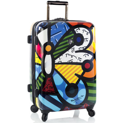 "Heys® Britto Butterfly 26"" Hardside Spinner Upright Luggage"