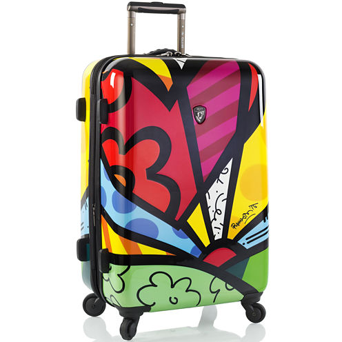 "Heys® Britto A New Day 26"" Hardside Spinner Upright Luggage"