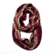 MUK LUKS® Textured Knit Eternity Scarf