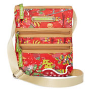 Lily Bloom Section Crossbody Bag