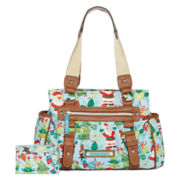 Lily Bloom Triple Section Satchel
