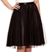 Blu Sage Tulle A-Line Skirt