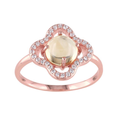 jcpenney.com | Genuine Citrine and White Topaz Ring