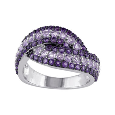 jcpenney.com | Genuine Amethyst and Rose de France Sterling Silver Ring