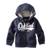 OshKosh B'gosh® Full-Zip Fleece Hoodie - Preschool Boys 4-7