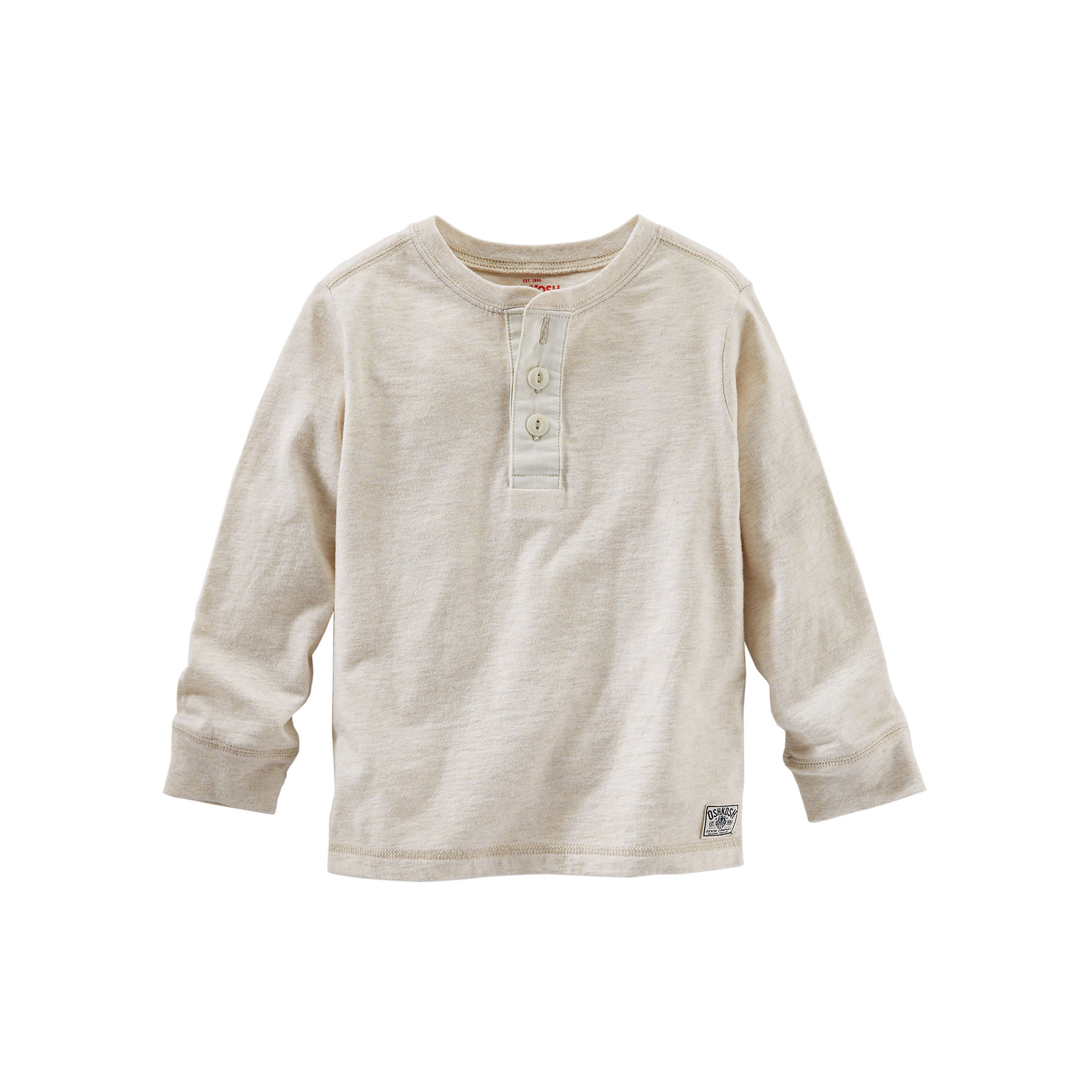 d1c56fb63 ... UPC 887044902435 product image for OshKosh B'gosh Long-Sleeve Henley -  Toddler Boys ...