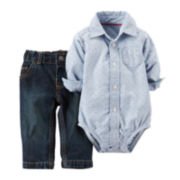 Carter's® Shirt and Pants Set - Baby Boys newborn-24m