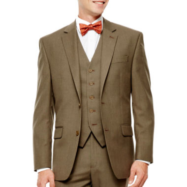 jcpenney.com | IZOD® Light Brown Sharkskin Suit Jacket - Classic Fit