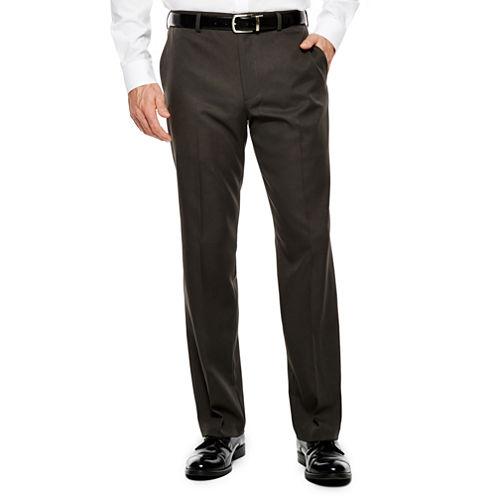 Men's Van Heusen® Straight-Leg Traveler Flat-Front Chevron Dress Pants