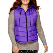City Streets® Puffer Vest - Juniors Plus