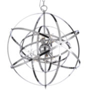 6-Light Foucault's Orb Chandelier