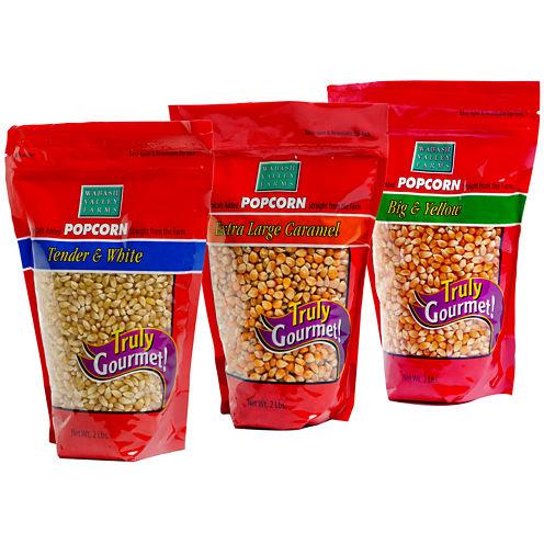 Wabash Valley Farms™ Big & Bold Gourmet Popcorn Trio Set