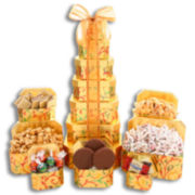 Alder Creek 7-Tier Grand Holiday Sweet Gift Tower