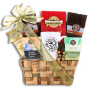 Alder Creek Coffee Bean & Tea Leaf Weave Gift Basket