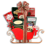 Alder Creek Holiday Sleigh Ride Cookie Gift Basket