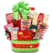 Alder Creek Let it Snow Peppermint Gift Basket