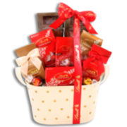 Alder Creek Lindt Assorted Truffles Gift Basket