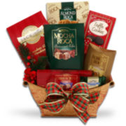 Alder Creek Traditional Holiday Chocolate and Candy Gift Basket