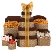 Alder Creek Golden Decadence Chocolate and Caramel Gift Tower