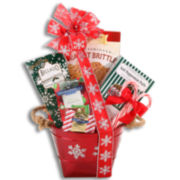 Alder Creek Festive Favorites Peppermint Gift Basket