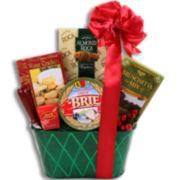 Alder Creek Happy Holidays Sweet and Savory Gift Basket