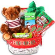 Alder Creek Santa Candy Gift Basket