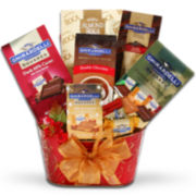 Alder Creek Ghirardelli Holiday Spectacular Chocolate Gift Basket
