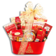 Holiday Gourmet Traditions Sweet and Savory Gift Tin