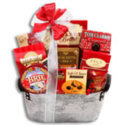Silver Bells Sweet and Savory Gift Basket