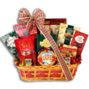 Alder Creek Happy Holidays Sweet and Savory Gift Basket