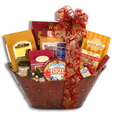 jcpenney.com | Alder Creek The Classic Sweet and Savory Gift Basket