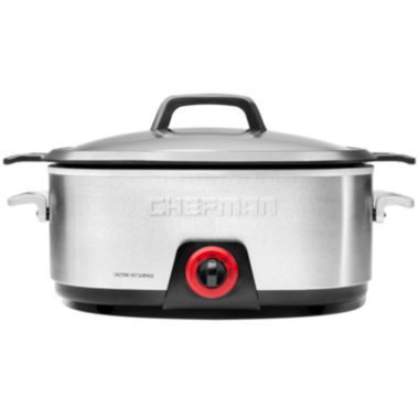 jcpenney.com | Chefman Diecast Slow Cooker