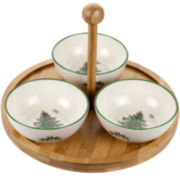 Spode® Christmas Tree 4-pc. Porcelain Serving Set