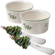 Spode® Christmas Tree 4-pc. Ramekin Dipping Set