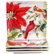 Certified International Botanical Christmas Dinnerware Collection