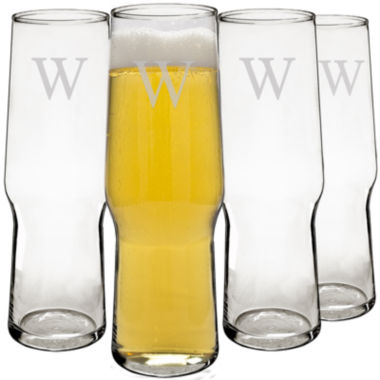 jcpenney.com | Cathy's Concepts Personalized Set of 4 Craft Beer Pilsners