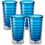 Tervis® 16-oz. Blue Infusion Set of 4 Insulated Tumblers