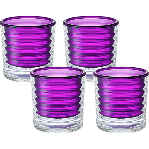 Tervis® 8-oz. Plum Twist Set of 4 Insulated Tumblers