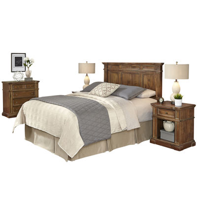 Sherman Headboard, 2 Nightstands and Chest