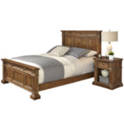 Sherman Bed and Nightstand