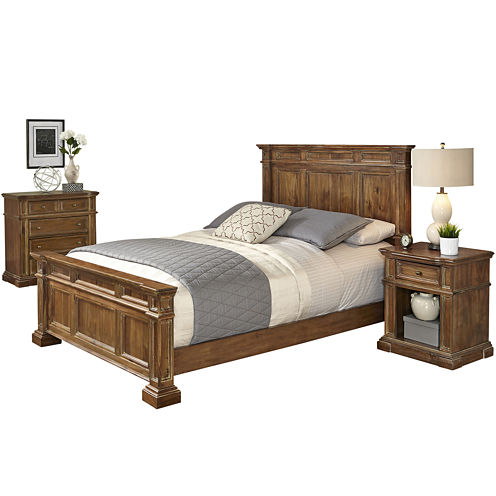 Sherman Bed, Nightstand and Chest
