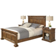 Sherman Bed and 2 Nightstands