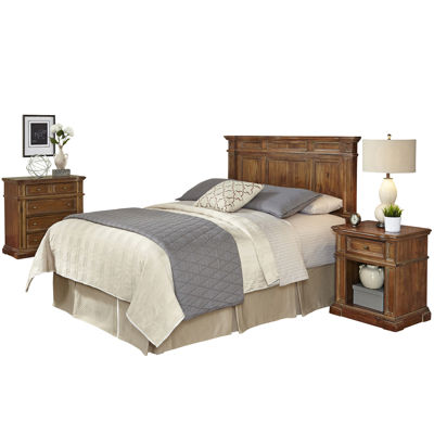 Sherman Headboard, Nightstand and Chest