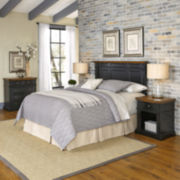 Bransford Headboard, 2 Nightstands and Chest