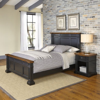 Bransford Bed and Nightstand