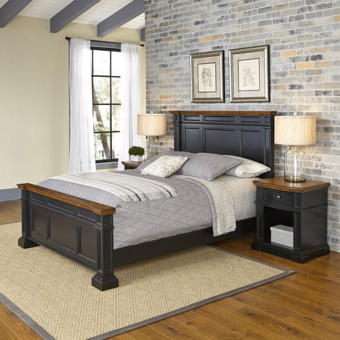 Bransford Bed and 2 Nightstands